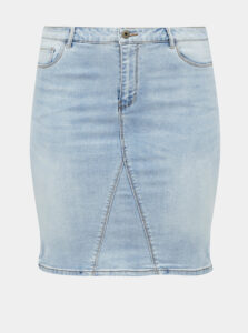 Svetlomodrá rifľová sukňa ONLY CARMAKOMA Mila
