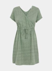 Zelené tehotenské šaty Mama.licious Melanie
