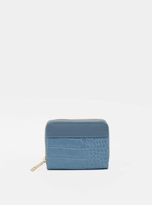 Modrá peňaženka s krokodýlím vzorom Haily´s Olivia