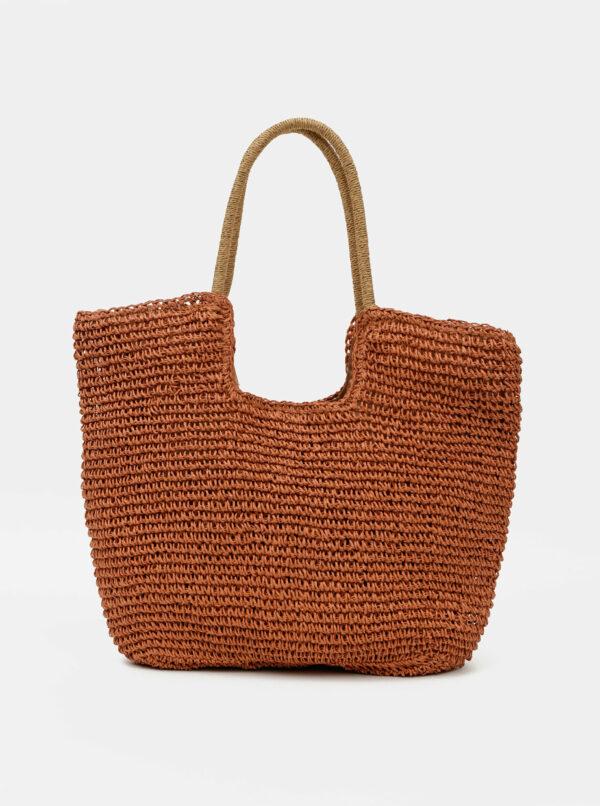 Hnedá plážová taška Haily´s Ella