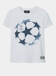 Biele chlapčenské tričko name it UEFA