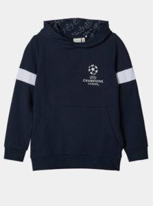 Tmavomodrá chlapčenská mikina name it UEFA