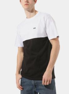 Bielo-čierne pánske tričko VANS