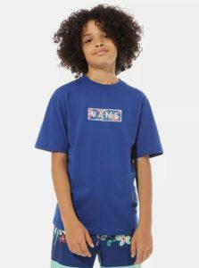 Modré chlapčenské tričko VANS