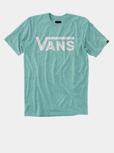 Modré pánske tričko s potlačou VANS