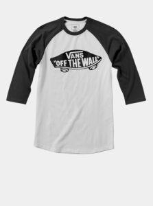 Biele chlapčenské tričko s potlačou VANS