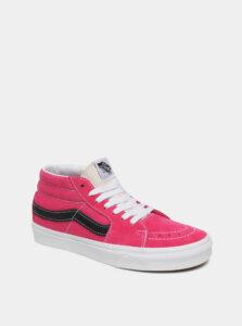 Ružové dámske semišové tenisky VANS
