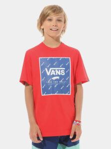 Červené chlapčenské tričko VANS