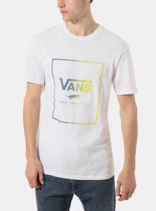 Biele pánske tričko VANS