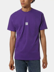 Fialové pánske tričko VANS