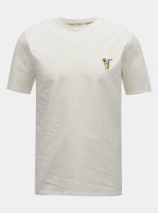 Krémové tričko Selected Homme