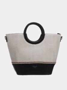 Čierno-béžová kabelka Bessie London