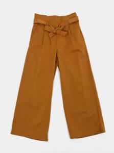 Hnedé dievčenské nohavice name it