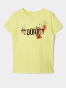Žlté dievčenské tričko name it Hailee