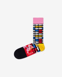 Happy Socks Pink Panther Jet Pink Ponožky Viacfarebná