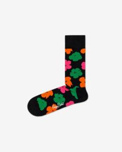 Happy Socks Andy Warhol Flower Ponožky Čierna Viacfarebná