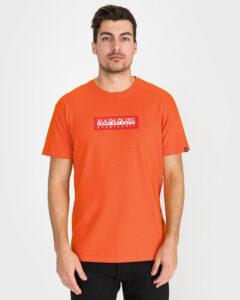 Napapijri Sox Tričko Oranžová