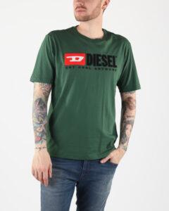 Diesel Hc-T-Just-Division Tričko Zelená