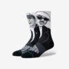 Stance Premier And Guru Ponožky Čierna Biela