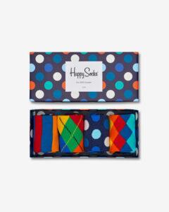 Happy Socks Ponožky 4 páry Viacfarebná