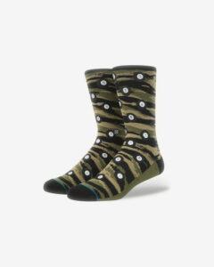 Stance Eight Ball Ponožky Zelená