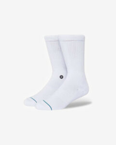 Stance Icon Ponožky Biela