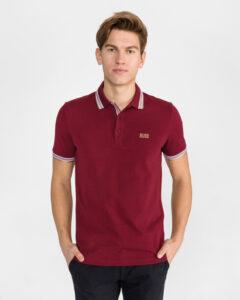 BOSS Paddy Polo tričko Červená