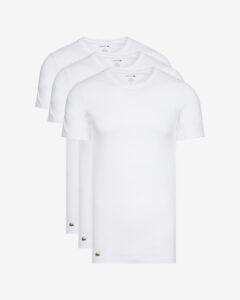 Lacoste Spodné tričko 3 ks Biela