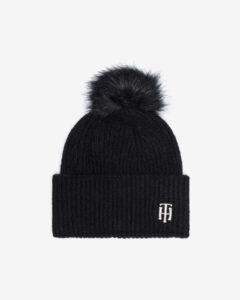 Tommy Hilfiger Zimná čiapka Čierna