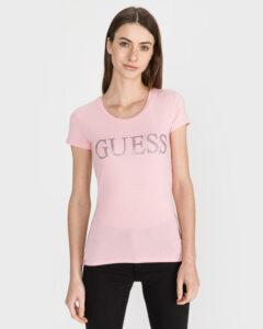 Guess Crystal Tričko Béžová
