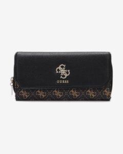 Guess Esme Large Peňaženka Čierna Hnedá