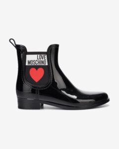 Love Moschino Čižmy Čierna