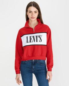 Levi's Logo Mikina Červená