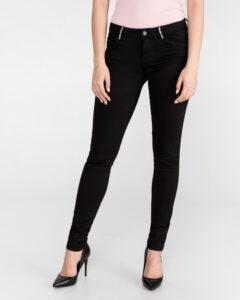 Guess Curve X Jeans Čierna