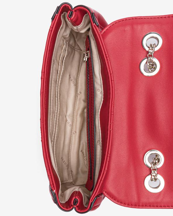 Guess New Wave Mini Cross body bag Červená