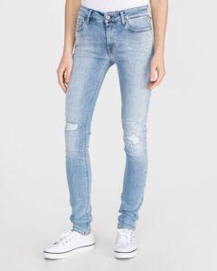 Replay New Luz Jeans Modrá