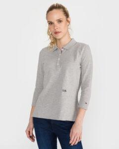 Tommy Hilfiger Essential Polo tričko Šedá