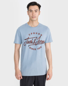 Jack & Jones Pex Tričko Modrá