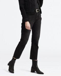 Levi's 501® Crop Jeans Čierna