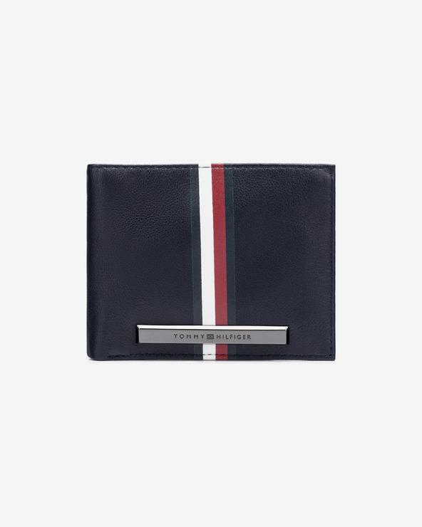 Tommy Hilfiger Plaque Mini Peňaženka Modrá