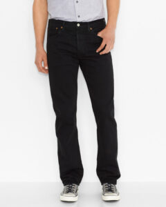 Levi's 501® Original Fit Jeans Čierna