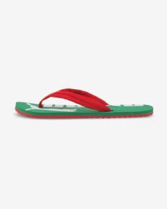 Puma Epic Flip v2 Žabky Zelená Červená
