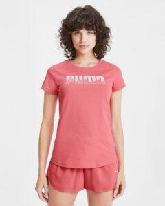 Puma Rebel Tričko Ružová Béžová