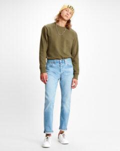 Levi's 501® Slim Taper Jeans Modrá