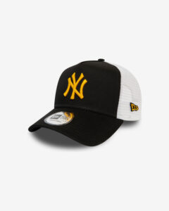 New Era New York Yankees Essential Šiltovka Čierna Biela