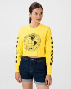 Vans National Geographic Tričko Žltá