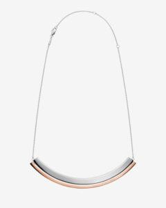 Calvin Klein Loud Náhrdelník Strieborná