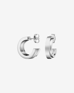 Calvin Klein Loud Náušnice Strieborná