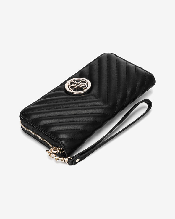 Guess Blakely Large Peňaženka Čierna