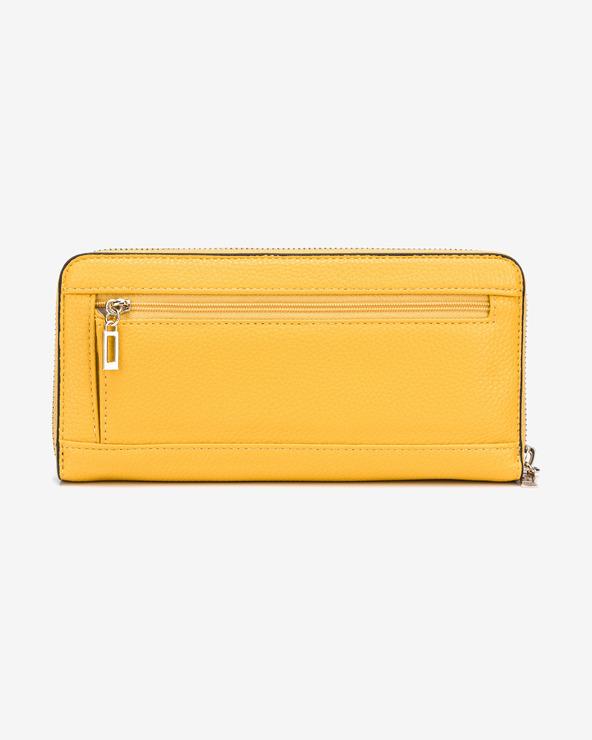 Guess Brightside Large Peňaženka Žltá
